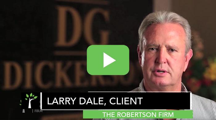 Larry Dale Testimonial Construction Law